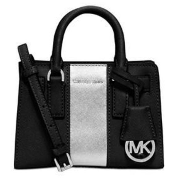 Michael Kors Handbags - Michael Kors Dillon Stripe Mini Crossbody